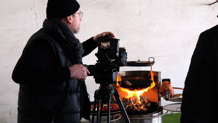 Foto- und Videoshooting bei Hirst