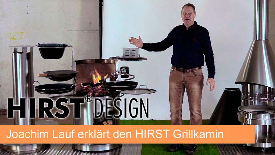 Vulcanus Grill & Grillkamin erklärt